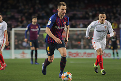 January 30, 2019 - Barcelona, BARCELONA, Spain - Rakitic of Barcelona in action during Spanish King championship, football match between Barcelona and Sevilla, January  30th, in Camp Nou Stadium in Barcelona, Spain. (Credit Image: © AFP7 via ZUMA Wire)