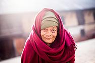 Portrait of a resident of the Social Welfare Centre for Elderly in Kathmandu, Nepal.<br /> Photo by Lorenz Berna