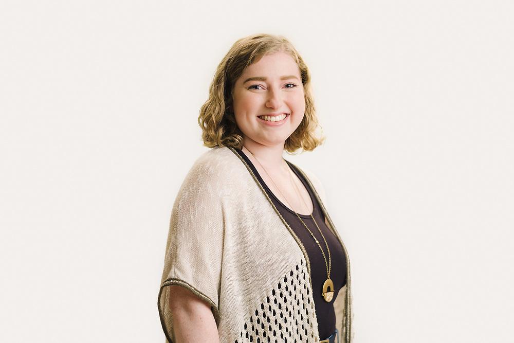 Portrait of Abbie Lowenstein.