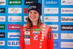 Ema Klinec of Nordic team at media day of Ski Association of Slovenia before new winter season 2018/19, on October 4, 2018 in Ski resort Pohorje, Maribor, Slovenia. Photo by Grega Valancic / Sportida