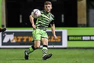 Forest Green Rovers Ethan Hill(33) during the FA Youth Cup match between Forest Green Rovers and Helston Athletic at the New Lawn, Forest Green, United Kingdom on 29 October 2019.