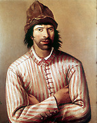 Peter I, the Great (1672-1725) Tsar of Russia from 1682, here dressed as a ship's carpenter's apprentice so that he could go incognito while studying shipbuilding.