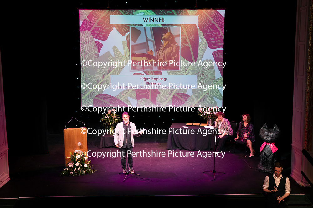 EMBARGOED UNTIL 18.00 (6PM) 10.06.18 <br />Critics' Awards for Theatre in Scotland at Perth Theatre…Oguz Kaplangi winner of the BEST MUSIC AND SOUND award for Rhinceros<br />for further info contact Lesley Booth at CATS on 07799 414474<br />Picture by Graeme Hart.<br />Copyright Perthshire Picture Agency<br />Tel: 01738 623350  Mobile: 07990 594431