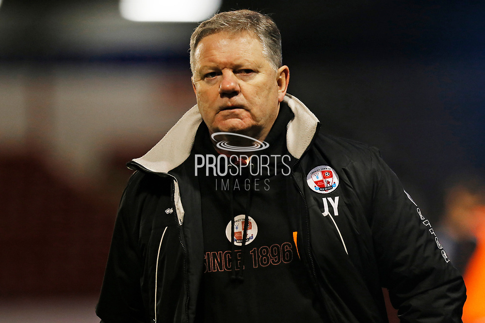 John Yems after the EFL Sky Bet League 2 match between Walsall and Crawley Town at the Banks's Stadium, Walsall, England on 18 January 2020.