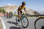 George Bennett (NZL - Team LottoNL - Jumbo) during the UCI World Tour, Tour of Spain (Vuelta) 2018, Stage 4, Velez Malaga - Alfacar Sierra de la Alfaguara 161,4 km in Spain, on August 28th, 2018 - Photo Luca Bettini / BettiniPhoto / ProSportsImages / DPPI