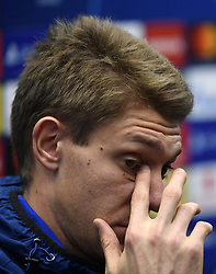 December 10, 2018 - Bruges, Belgique - BRUGGE, DECEMBER 10 : Ethan Horvath goalkeeper of Club Brugge pictured during press conference the day before the UEFA Champions League group A match between Club Brugge KV and Atletico Madrid on December 10, 2018 in Brugge, 10/12/2018 (Credit Image: © Panoramic via ZUMA Press)