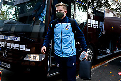 James Daly of Bristol Rovers arrives at Rochdale - Mandatory by-line: Robbie Stephenson/JMP - 31/10/2020 - FOOTBALL - Crown Oil Arena - Rochdale, England - Rochdale v Bristol Rovers - Sky Bet League One