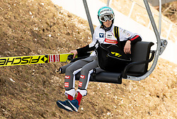 Michael Hayboeck (AUT) during the Ski Flying Hill Individual Competition at Day 2 of FIS Ski Jumping World Cup Final 2019, on March 22, 2019 in Planica, Slovenia. Photo by Masa Kraljic / Sportida
