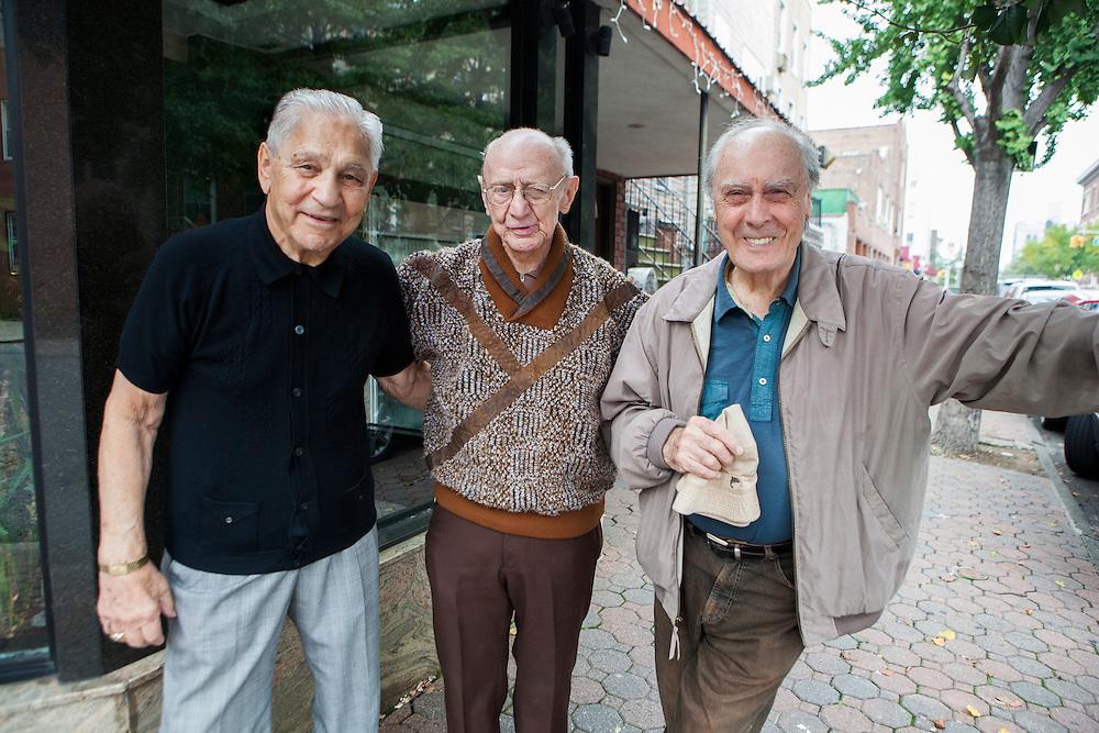 Charle, Peter and Mr Ramaldo
