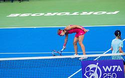 PORTOROZ, SLOVENIA - SEPTEMBER 18: Aleksandra Krunic of Serbia during the double finals of WTA 250 Zavarovalnica Sava Portoroz at SRC Marina, on September 19, 2021 in Portoroz / Portorose, Slovenia. Photo by Nik Moder / Sportida
