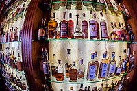 Cascades Whiskey Bar in the historic Stanley Hotel, Estes Park, Colorado USA.
