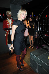 TICKY HEDLEY-DENT at the Tatler Little Black Book Party held at Chinawhite, 4 Winsley Street, London on 20th November 2009.