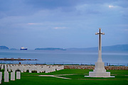 The Suda Bay War Cemetery is a military cemetery administered by the Commonwealth War Graves Commission at Souda Bay, Crete, Greece. It contains burials from both World War I and especially World War II (Battle of Crete). It was designed by architect Louis de Soissons.