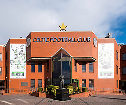 Celtic Park home of Celtic Football Club in Parkhead , Glasgow, Scotland, United Kingdom
