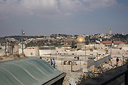 Cityscape of the Old City of Jerusalem
