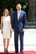 072413 prince felipe and princess letizia luis carandell journaiism award