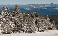 The views from Gunstock Mountain Resort in Gilford, NH