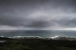 South Africa - Cape Town - 17 August 2020 - The first droplets of rain of the incoming storm hits the ground. Photographer: Armand Hough/African News Agency(ANA)
