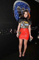 ATLANTA DE CADENET at the Warner Music Group & Belvedere BRIT Awards After Party held at The Savoy, London on 19th February 2014.