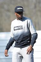 Blaise Matuidi - 23.03.2015 -Equipe de France - Arrivee des joueurs a Clairefontaine<br /> Photo : Andre Ferreira / Icon Sport