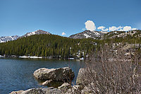 Lily Lake in Rocky Mountain National Park. Image taken with a Nikon D2xs camera and 17-55 mm f/2.8 lens (ISO 100, 17 mm, f/4.8, 1/250 sec).