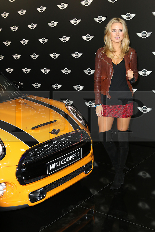 Kimberley Garner, The World Premiere of the New MINI, Old Sorting Office, London UK, 18 November 2013, Photo by Richard Goldschmidt © Licensed to London News Pictures. Photo credit : Richard Goldschmidt/Piqtured/LNP