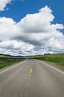 Oregon State Highway 3 leading into Wallowa Valley.