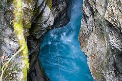 Kamniska Bistrica river in Predaselj gorge, on May 2, 2018 in Kamnik, Slovenia. Photo by Matic Klansek Velej / Sportida