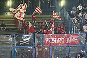 DESCRIZIONE : Cremona Lega A 2014-2015 Vanoli Cremona Consultinvest Pesaro<br /> GIOCATORE : Tifosi Supporters<br /> SQUADRA : Consultinvest Pesaro<br /> EVENTO : Campionato Lega A 2014-2015<br /> GARA : Vanoli Cremona Consultinvest Pesaro<br /> DATA : 14/12/2014<br /> CATEGORIA : Tifosi Supporters<br /> SPORT : Pallacanestro<br /> AUTORE : Agenzia Ciamillo-Castoria/F.Zovadelli<br /> GALLERIA : Lega Basket A 2014-2015<br /> FOTONOTIZIA : Cremona Campionato Italiano Lega A 2014-15 Vanoli Cremona Consultinvest Pesaro<br /> PREDEFINITA : <br /> F Zovadelli/Ciamillo