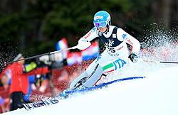 04.01.2013, Crveni Spust, Zagreb, AUT, FIS Ski Alpin Weltcup, Slalom, Damen, 1. Lauf, im Bild Irene Curtoni (ITA) // Irene Curtoni of Italy in action // during 1st Run of the ladies Slalom of the FIS ski alpine world cup at Crveni Spust course in Zagreb, Croatia on 2013/01/04. EXPA Pictures © 2013, PhotoCredit: EXPA/ Pixsell/ Slavko Midzor..***** ATTENTION - for AUT, SLO, SUI, ITA, FRA only *****
