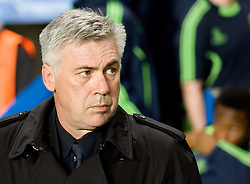Chelsea Manager, Carlo Ancelotti, UEFA Champions League Group Stage, Chelsea v MSK Zalina, 23/11/2010. EXPA Pictures © 2010, PhotoCredit: EXPA/ IPS/ Mark Greenwood +++++ ATTENTION - OUT OF ENGLAND/UK and FRANCE/FR +++++