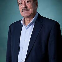 Abdel Bari Atwan, the editor-in-chief of Rai al-Youm, an Arab world digital news website, at the Edinburgh International Book Festival 2015. Edinburgh, Scotland. 23rd August 2015 <br /> Photograph by Gary Doak/Writer Pictures<br /> <br /> WORLD RIGHTS