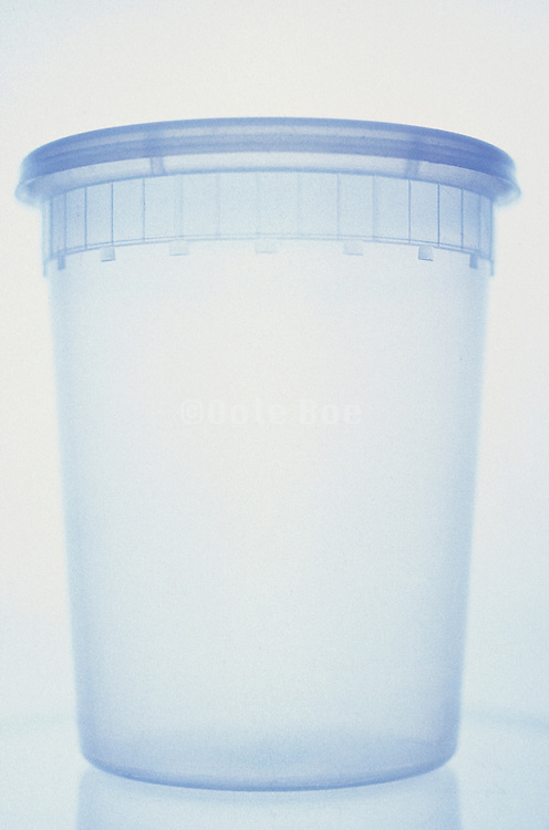 empty take out container