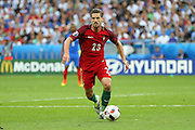 Portugal Midfielder Adrien Silva during the Euro 2016 final between Portugal and France at Stade de France, Saint-Denis, Paris, France on 10 July 2016. Photo by Phil Duncan.