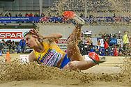Maryna Bekh-Romanchuk (Ukraine) Long Jump, during the European Athletics Indoor Championships 2019 at Emirates Arena, Glasgow, United Kingdom on 1 March 2019.