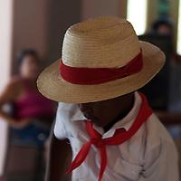 Central America, Cuba, Santa Clara. Young Cuban dancer.