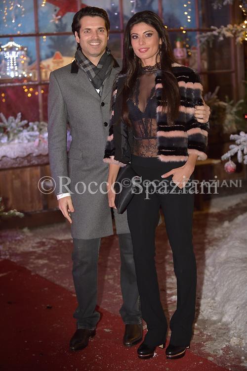 Sergio Arcuri e Valentina  Super Vacanze di Natale premiere, Red carpet, Rome, Italy - 12 Dec 2017