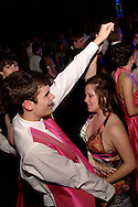 Cole Hetman (left) and Rochelle Corbeil during the Springboro High School prom at Springboro High School, Saturday, April 30, 2011.