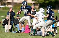 Silver Hawks JV football versus Monadnock, September 18, 2010.