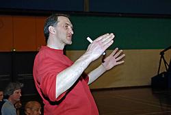 20-04-2005 BASKETBAL: LEVI - PERIK JUMPERS: AMSTERDAM<br /> Levi Amsterdam, wint de eerste playoff wedstrijd met 85-65 / Laly lakner (Lely)<br /> ©2005-WWW.FOTOHOOGENDOORN.NL