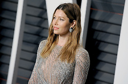 Jessica Biel arrives at the 2016 Vanity Fair Oscar Party Hosted By Graydon Carter at Wallis Annenberg Center for the Performing Arts on February 28, 2016 in Beverly Hills, California. EXPA Pictures © 2016, PhotoCredit: EXPA/ Photoshot/ Dennis Van Tine<br /><br />*****ATTENTION - for AUT, SLO, CRO, SRB, BIH, MAZ only*****