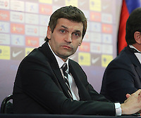 """FC Barcelona coach Tito Vilanova has suffered a recurrence of the serious illness suffered just over a year. According to an official statement from the club, """"in monitoring the process of the parotid gland, has detected an extension of their pathology, which require surgical treatment to be made on Thursday. Hospitalization time is expected around 3 or 4 days """"..Wednesday 19/12/2012"""