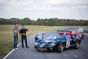 2017 Ford GTLM and 1966 Ford GT40 Rob Kauffman and Larry Webster