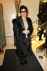 RUBY WAX at 'Heavenly Ivy' a play to commemorate 20 years of The Ivy Restaurant, held at The Ivy, West Street, London on 8th November 2010.