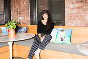 Jess Gilliam, GIPHY's brand creative director in 2018, shot for Business Insider.