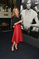 LUCY SCOVELL at an evenig of Jewellery & Photography to launch the Buccellati 'Opera Collection' held at Spencer House, London on 21st October 2015.