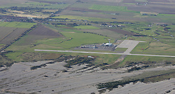 Image ©Licensed to i-Images Picture Agency. Aerial views. United Kingdom.<br /> Manston airport, Kent. Picture by i-Images