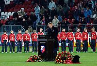 Fotball<br /> Nederland<br /> Foto: ProShots/Digitalsport<br /> NORWAY ONLY<br /> <br /> 01-12-2005 voetbal david di tomasso,<br /> Massale opkomst voor de herdenkingsdienst voor de maandagavond overleden David di Tomasso - foeke booy