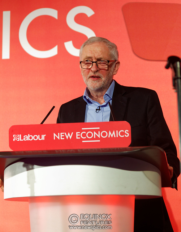 London, United Kingdom - 10 February 2018<br /> Leader of the Labour Party Jeremy Corbyn, speaking at the Labour Party's Alternative Models of Ownership Conference where he spoke about new 21st century forms of democratic ownership of industries.<br /> www.newspics.com/#!/contact<br /> (photo by: EQUINOXFEATURES.COM)<br /> Picture Data:<br /> Photographer: Equinox Features<br /> Copyright: ©2018 Equinox Licensing Ltd. +448700 780000<br /> Contact: Equinox Features<br /> Date Taken: 20180210<br /> Time Taken: 15522494