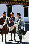 Press cameraman with video camera in Bhutan